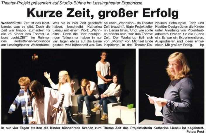 Kulturbund der Lessingstadt Wolfenbüttel e.V. - Theater Projekt Studio Bühne