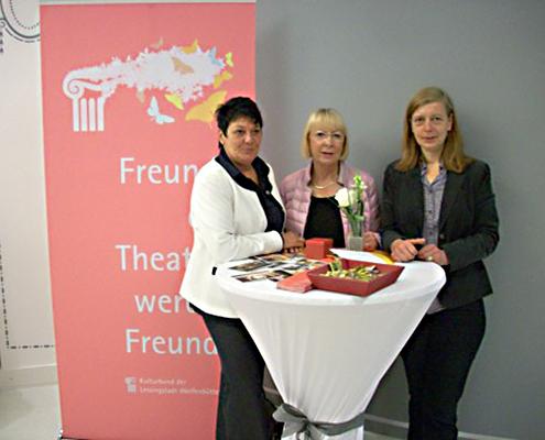 Kulturbund der Lessingstadt Wolfenbüttel e.V. - Stand Freunde des Theaters werben Freunde