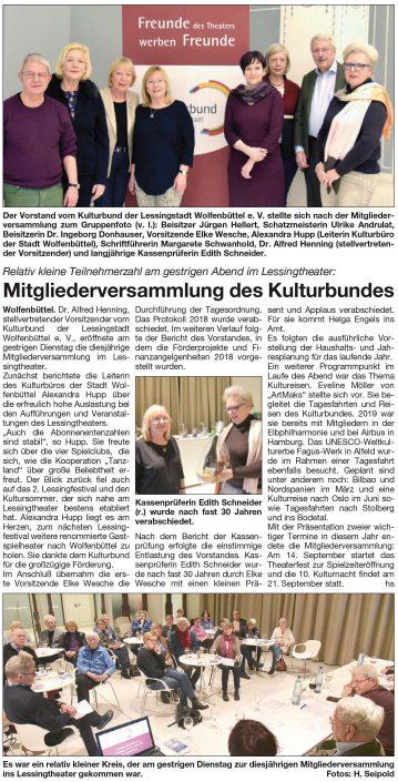 ulturbund-Mitgliederversammlung 2019-Artikel-Schaufenster-13-02-2019